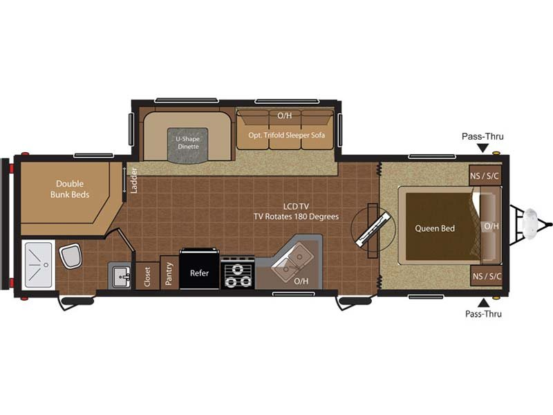 Hideout Floorplan